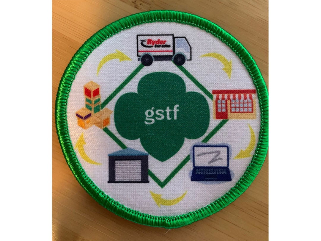 Girl Scouts supply chain patch