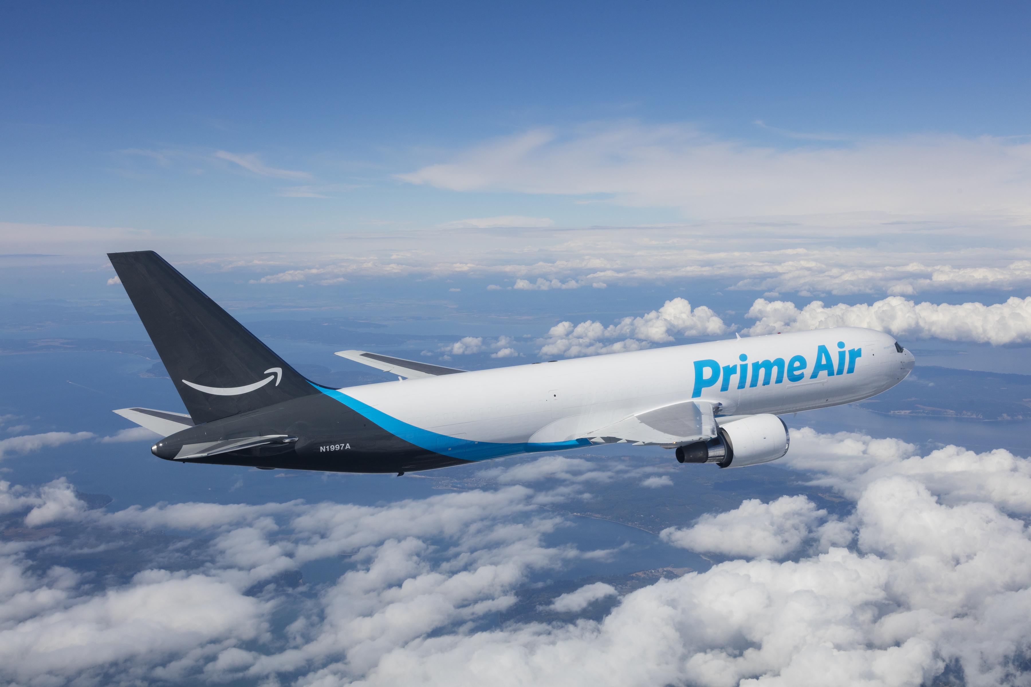 Amazon prime air in flight 2