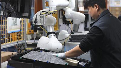 A3 automate 1 doosan ultrasonic welding