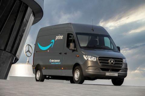 Amazon adds to EV fleet in Europe