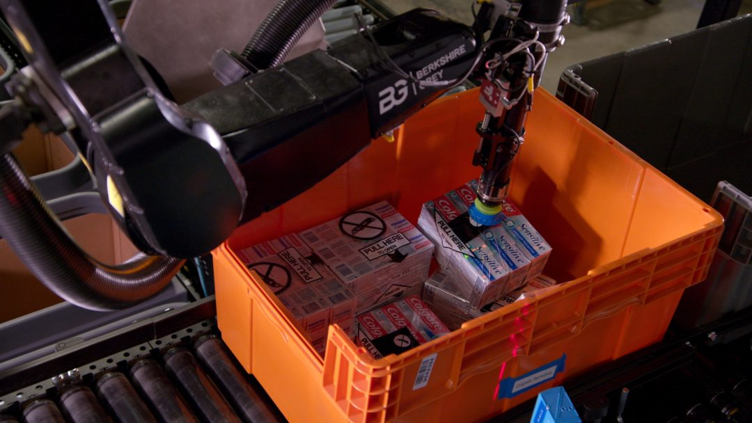 Berkshire Grey robotics solutions