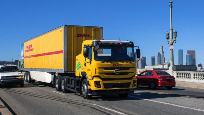DHL expands green vehicle fleet