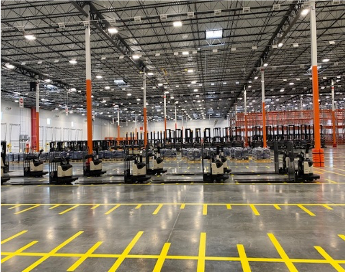 Automation, sustainability part of 1.5 million square foot Dallas DC, The Home Depot says