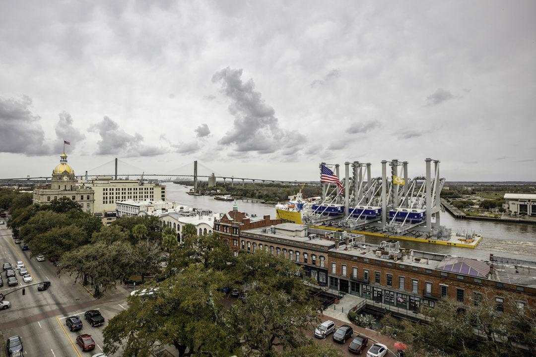 Port of Savannah Cranes