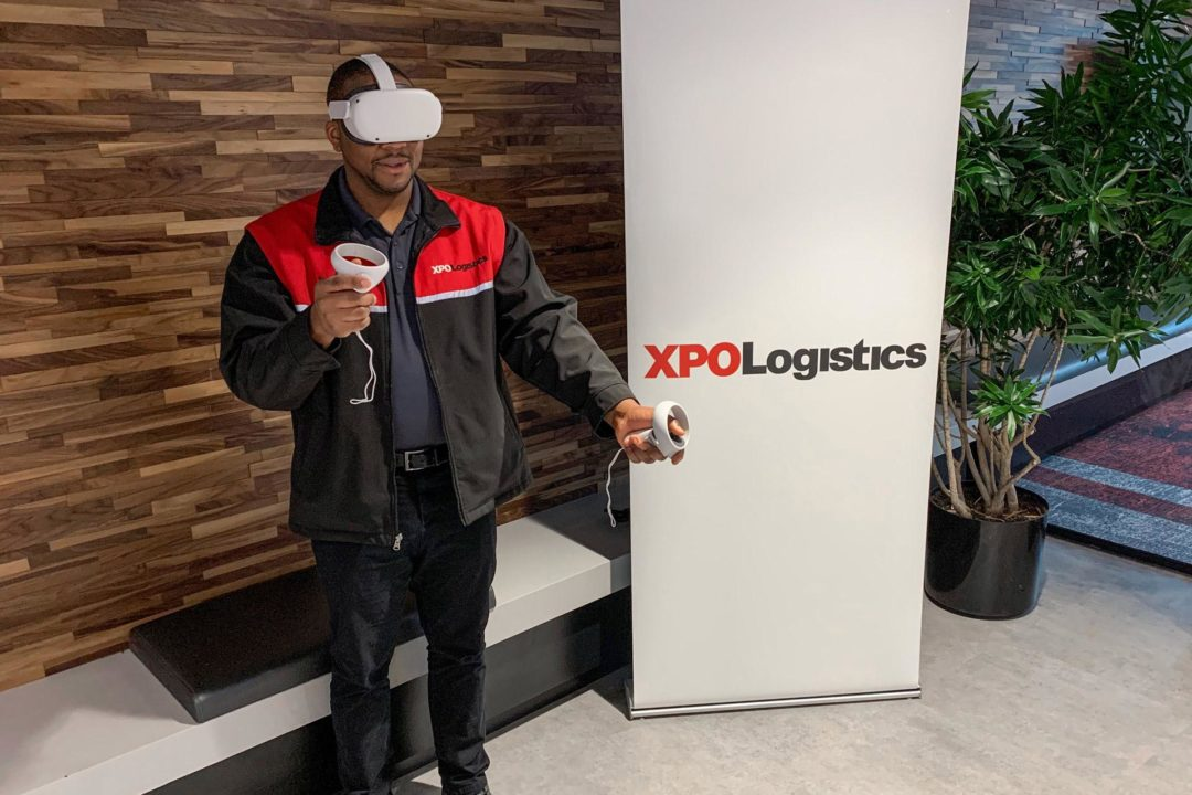 XPO uses virtual reality to train LTL workers