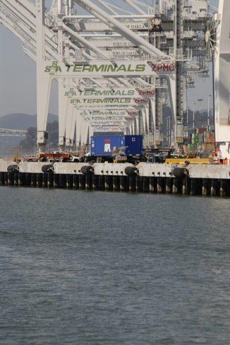 May volume down at Port of Oakland