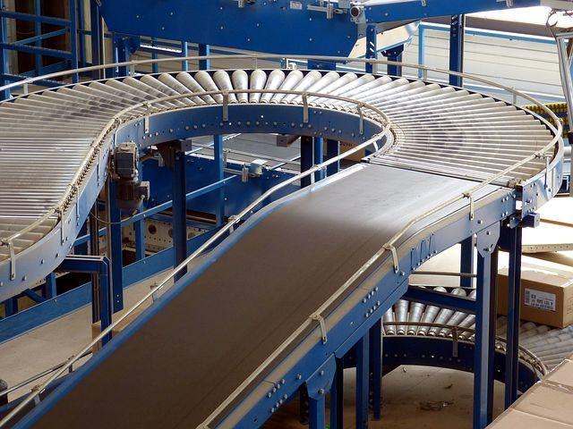 Conveyor orders up in May