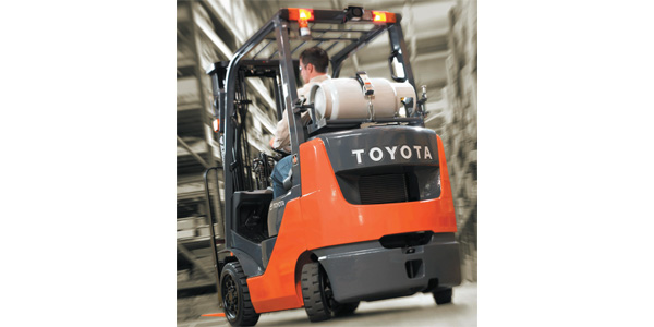 Propane-fueled forklifts catch a (tax) break