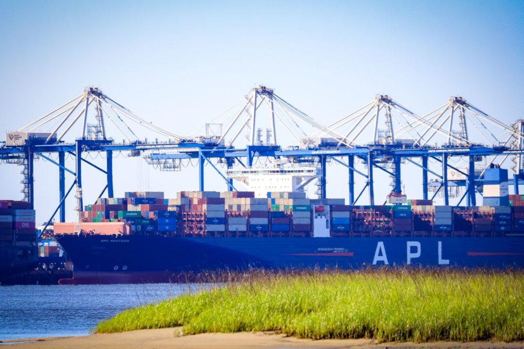 APL Sentosa, Port of Charleston
