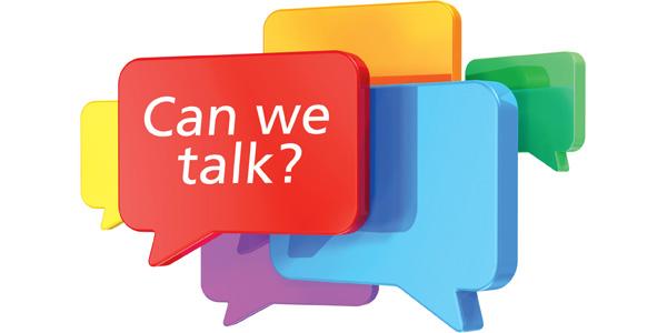 Can we talk? | 2012-11-06 | DC Velocity