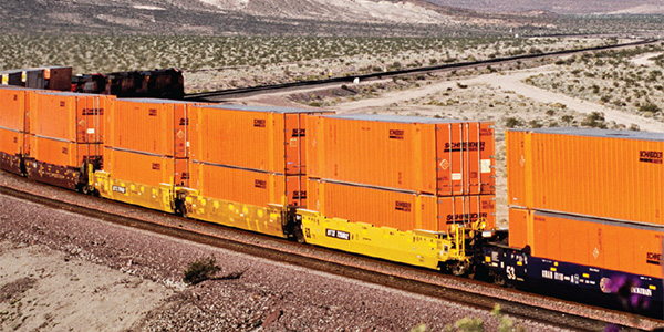 Schneider revamps intermodal service on U S -Mexico corridor