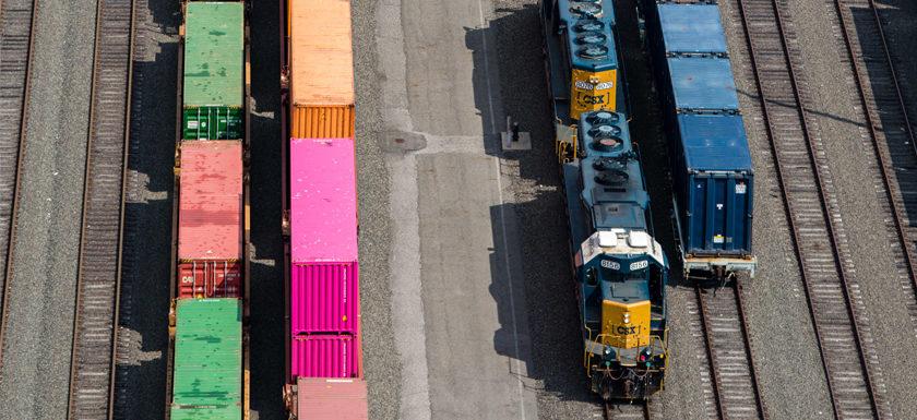 Rail cargo Port of NY and NJ
