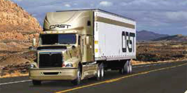 Unit of truckload carrier CRST sued over charges of
