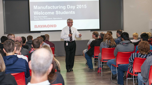 Raymond Corporation student event