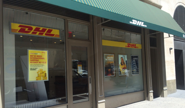 "DHL Express opens ""walking courier"" facility in Manhattan financial district"