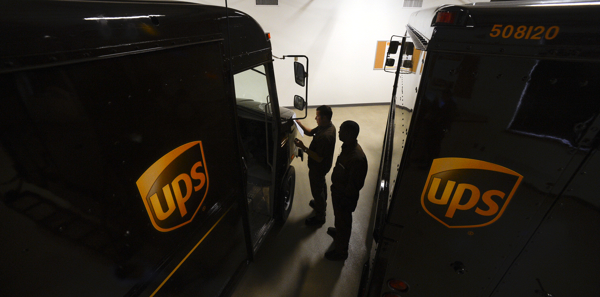 Technology keeps UPS drivers on pace