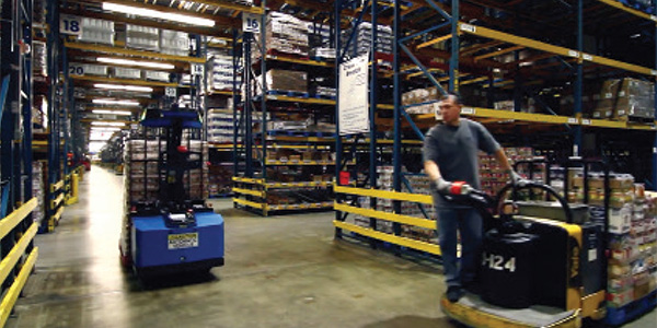 AGVs pioneer new paths in the warehouse