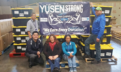 Yusen Logistics employees