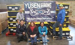 Yusen Logistics employees