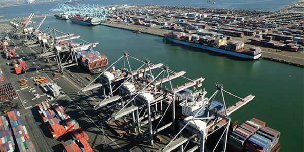 Port of Los Angeles and GE Transportation test maritime information portal