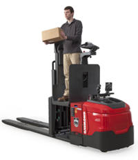 Raymond second-level pallet truck