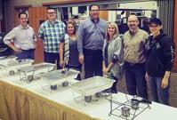 enVista employees serving Thanksgiving dinner