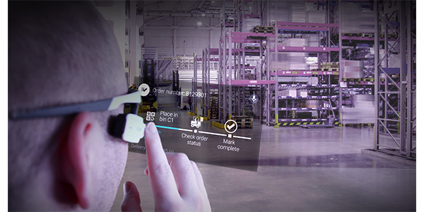 Smartglasses get a second look from warehouses