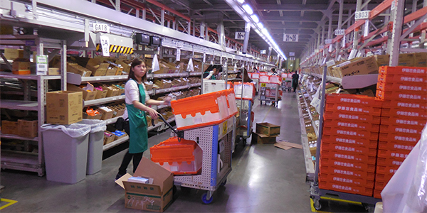 Fast-paced automated DC meets growing grocer's need for speed