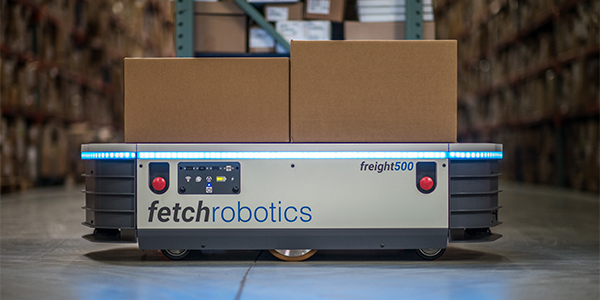 Fetch Robotics adds larger warehouse models