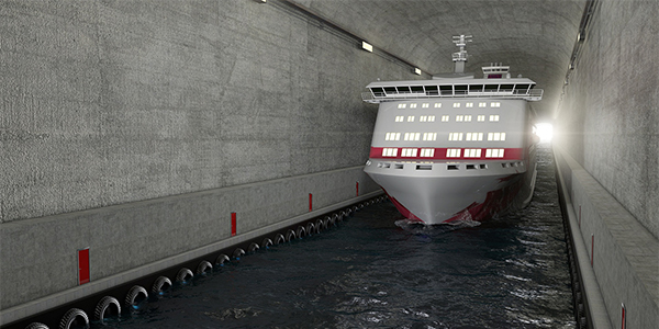 Norway plans ship tunnel