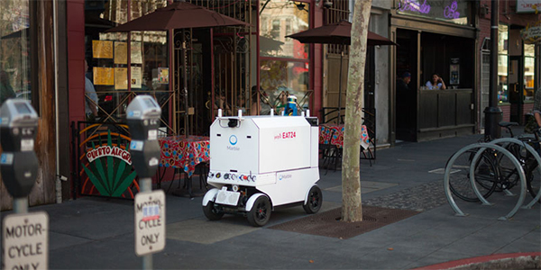 Marble lands $4 million investment for food delivery robot