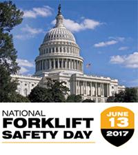 National Forklift Safety Day - June 13, 2017