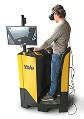 Yale virtual reality training simulator