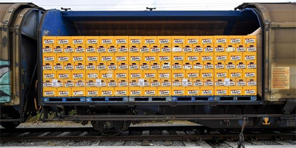 Anheuser-Busch InBev puts ale on the rails