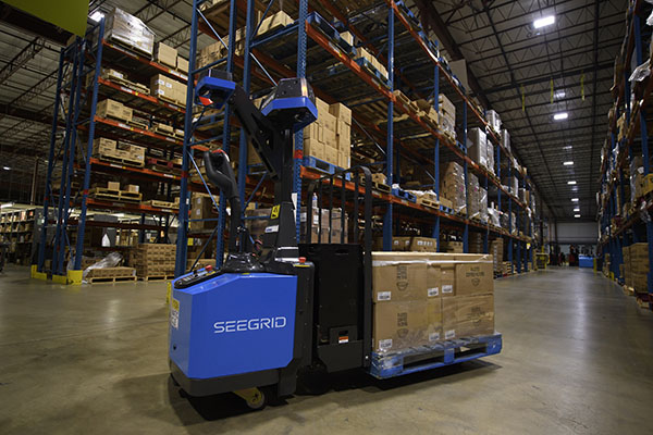 Seegrid introduces self-driving vision-guided pallet truck