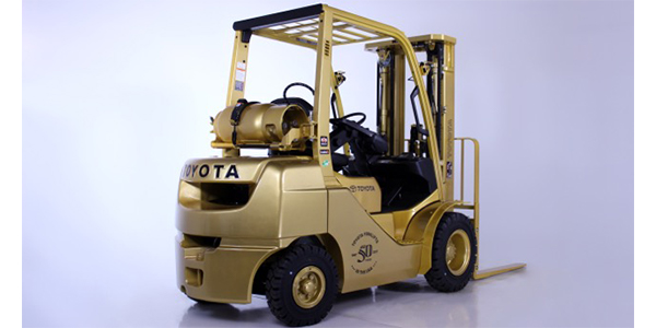 Toyota Forklifts marks 50 years of service in the United States