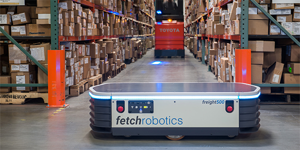 Fetch Robotics raises $25 million for warehouse robots