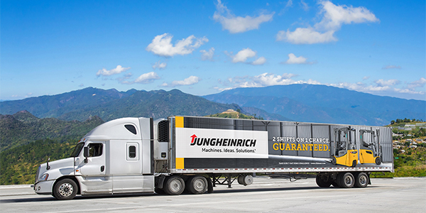 Jungheinrich takes its show on the road