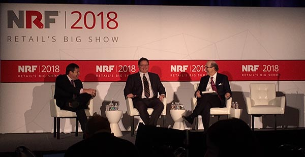 No brick-and-mortar meltdown during holiday, panelists say at NRF convention