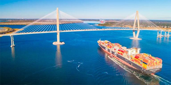 Port of Charleston sets TEU records in 2017