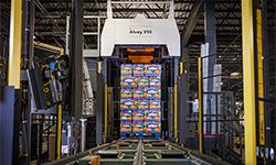Alvey 910 palletizing system