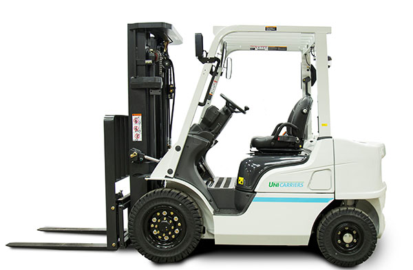 UniCarriers introduces next-generation pneumatic diesel forklifts