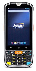 The Janam Technologies XM75 mobile computer