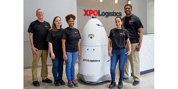 XPO patrols parking lots with security robot