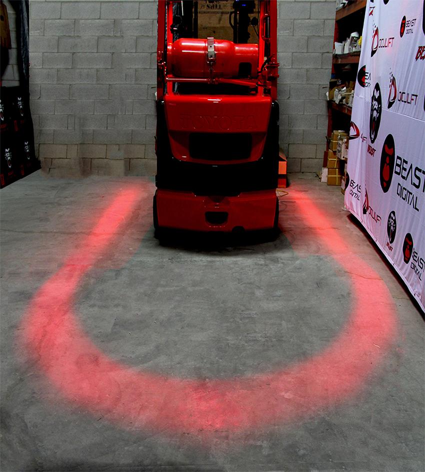Spotlight On Forklift Safety Products Dc Velocity