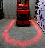 Panacea Aftermarket forklift arc safety light