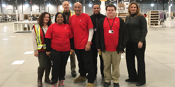 "XPO puts ""differently abled"" employees to work"
