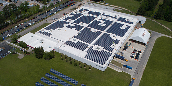 Kion North America completes solar array at South Carolina HQ