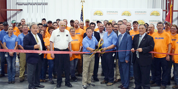 Frazier opens manufacturing facility in Tennessee