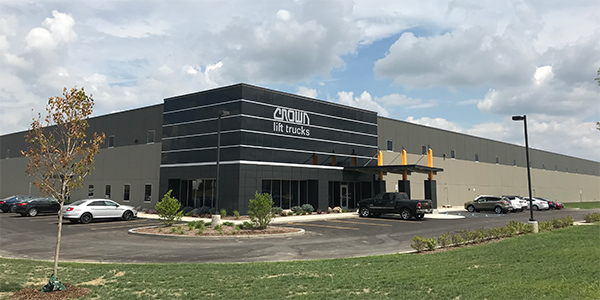Crown opens expanded forklift facility in Michigan